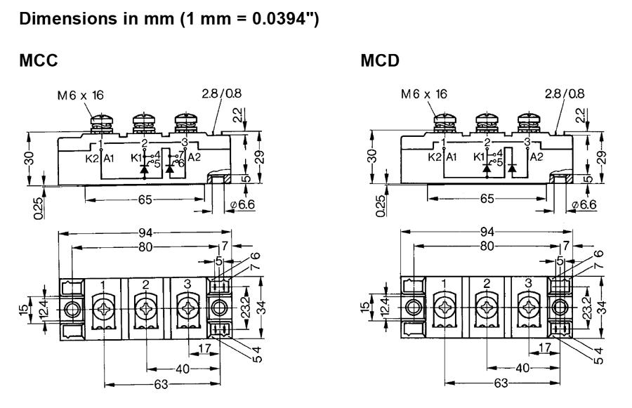 MCC 132 ixys
